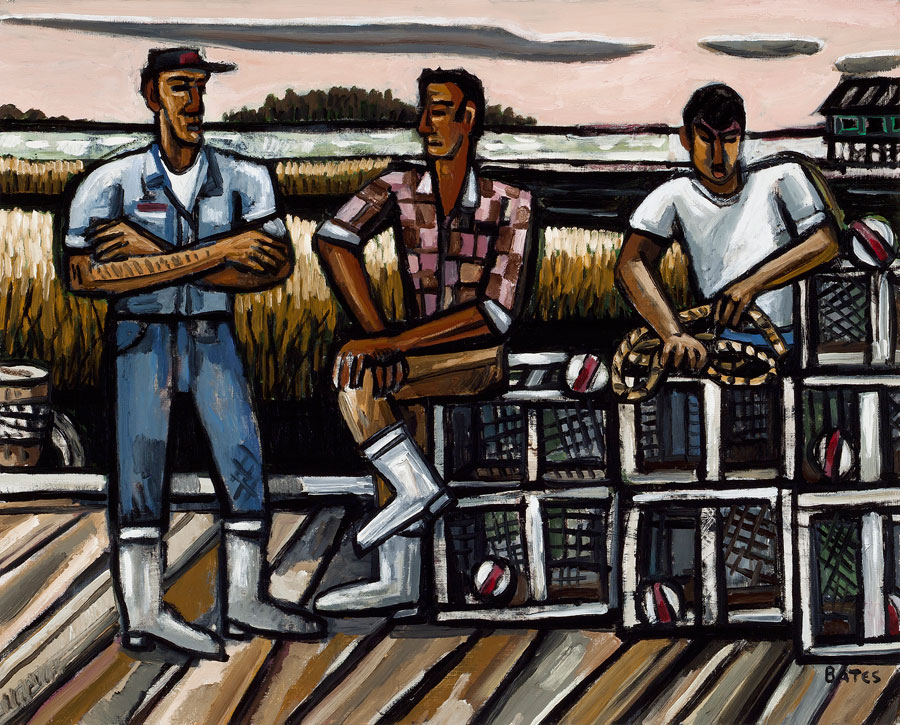 他融合了欧洲和美国现代主义与他热爱的民间艺术,绘画和浮雕.图片