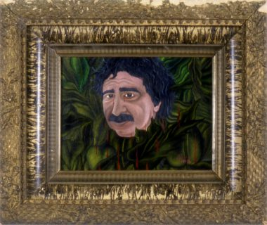 Jacqueline Bishop, Chico Mendes. 1994, 11 x 13 inches. Oil on Masonite.