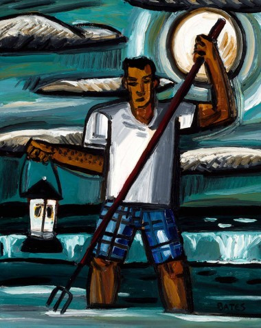 David Bates-Night Fishing