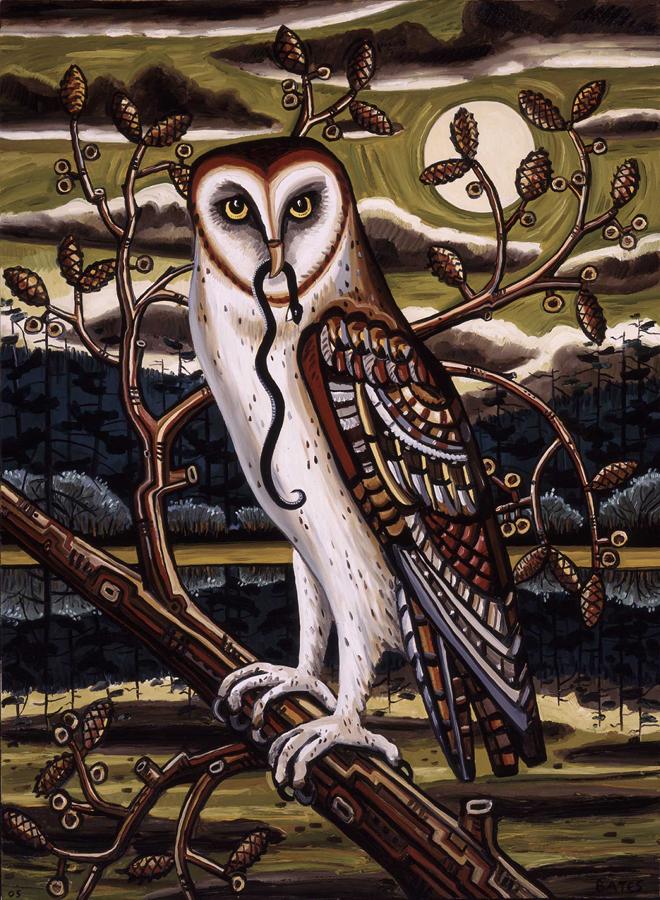 David Bates - Barn Owl II
