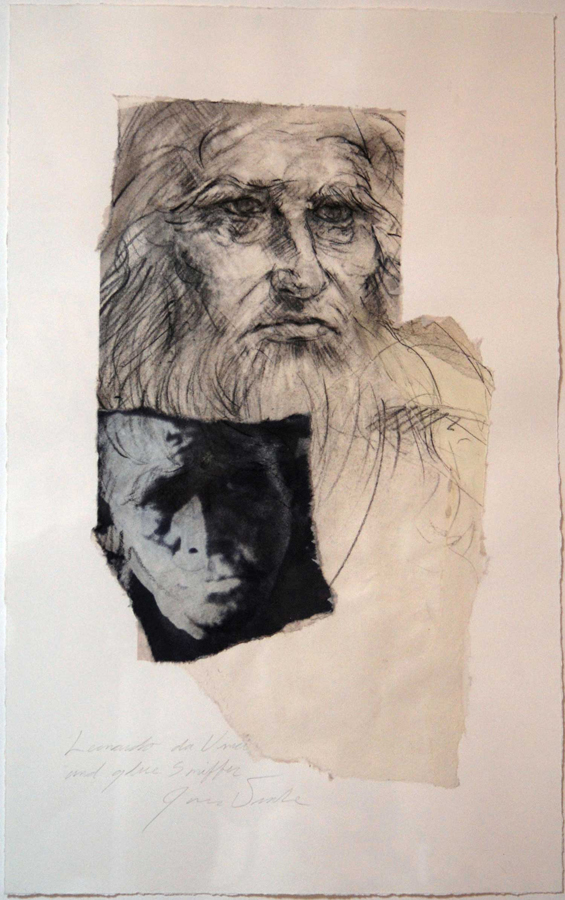 Leonardo Da Vinci with Glue Sniffer