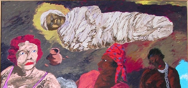 Robert Colescott-The Revelation