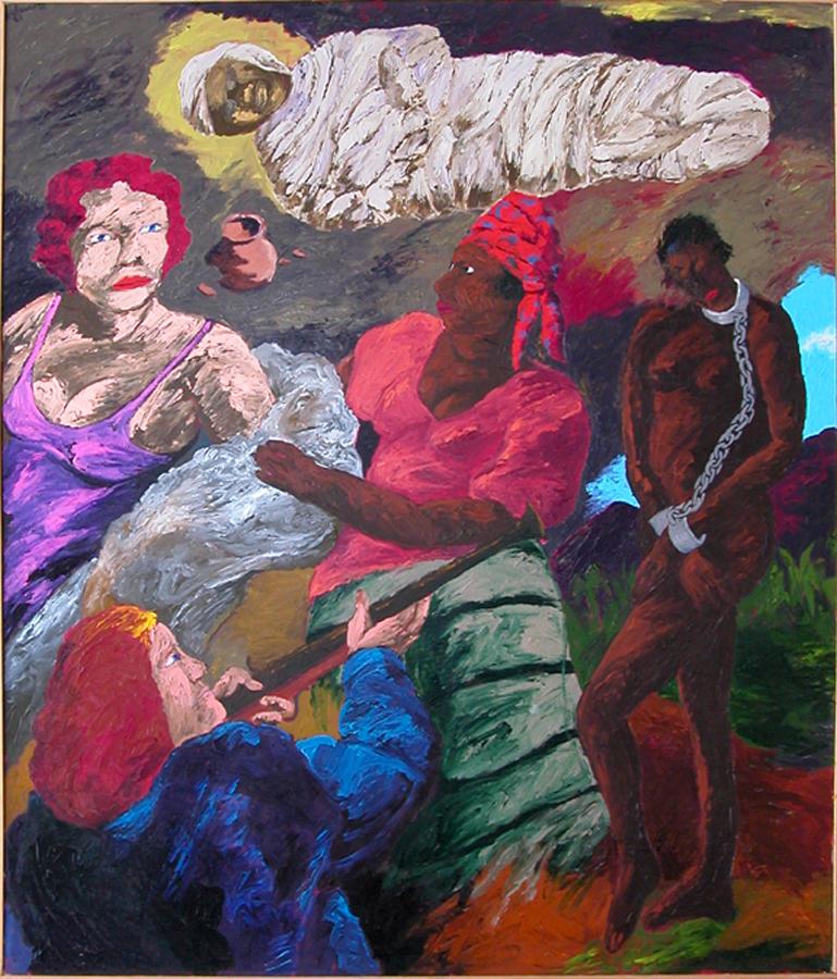 Robert Colescott-The Revelation