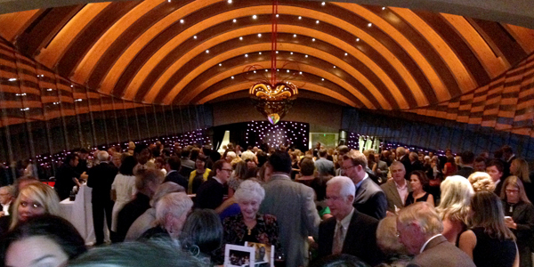 """At the opening night dinner for """"State of the Art."""" (Photo: Travis Diehl)"""