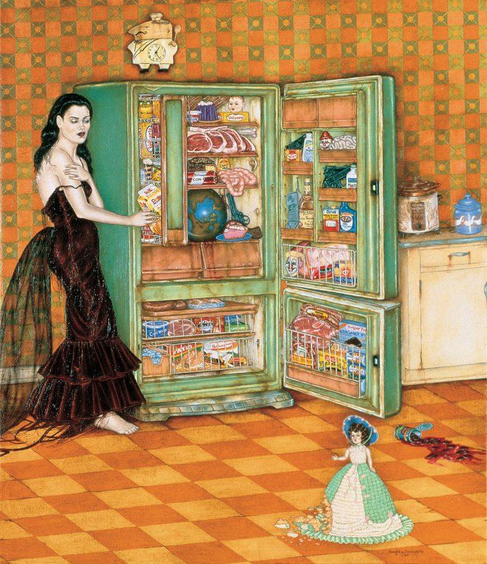 Refrigerator, by Douglas Bourgeois