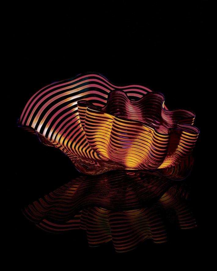 Amber Plum Seaform Pair