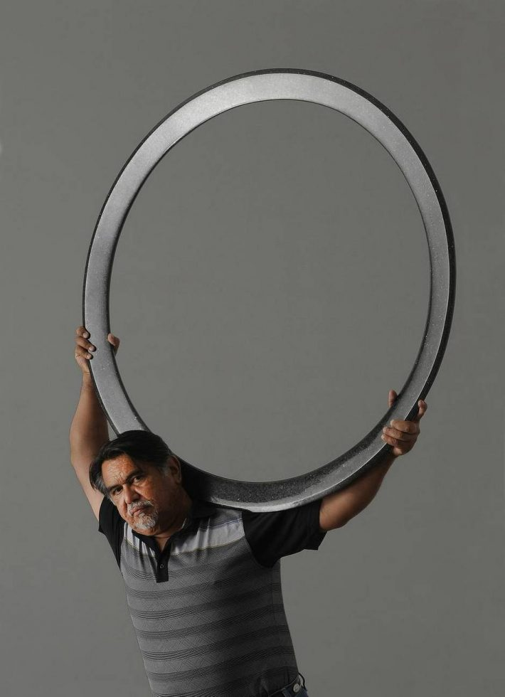 Sculptor Jesús Moroles [File 2012/Don Netzer]