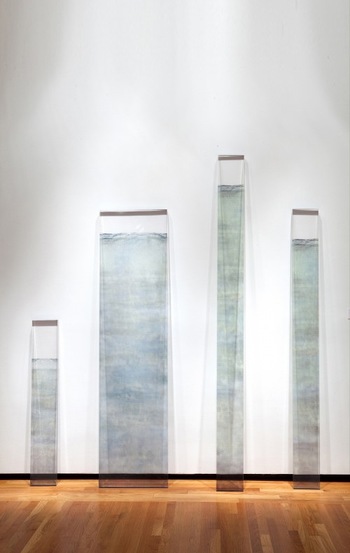 Water Markers by Dawn DeDeaux at the New Orleans Museum of Art