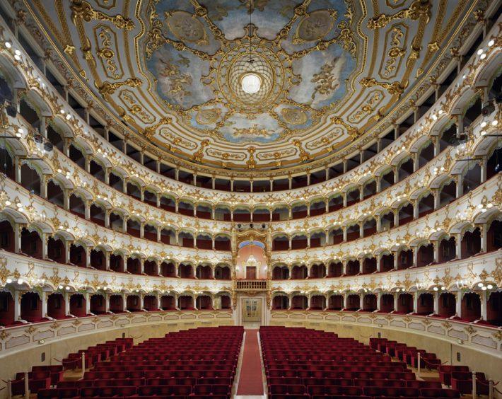 Teatro Municipale Piacenza, Italy, 2010 David Leventi, courtesy of Damiani & Rick Wester Fine Art