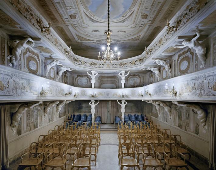 Teatro di Villa Aldrovandi Mazzacorati Bologna, Italy, 2014 David Leventi, courtesy of Damiani & Rick Wester Fine Art