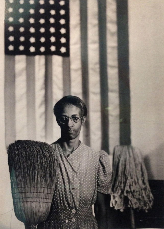 Gordon Parks | American Gothic, Washington DC, 1942, n/d | Gelatin silver print | 11 x 14 inches