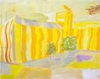 Yellow Tent, 2015 | Acrylic on canvas | 16 x 20 inches