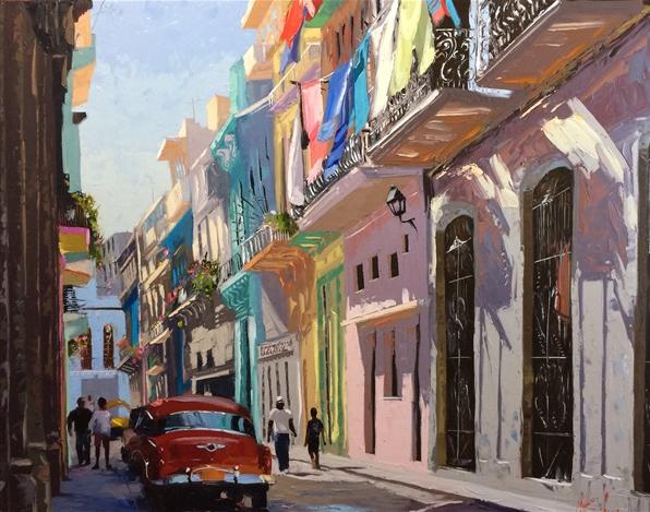 Peter C. Vey, Streets of Havana (2014). Courtesy of Gallery on Greene.