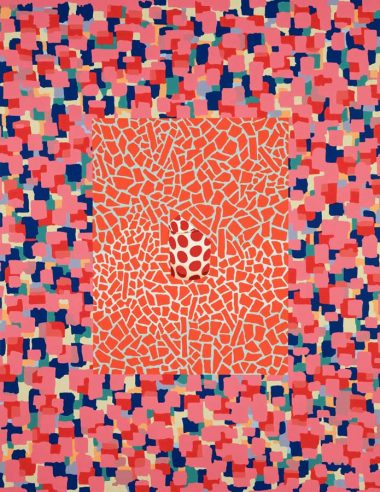 Modern Emblem, 2014 | Oil on linen | 61 x 47 inches