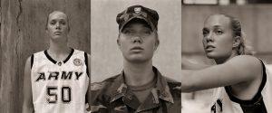 Kathryn MacFarlane, Basketball player, USMA - Triptych