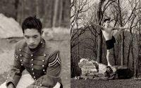 Troy Pazcoguin, Gymnast, USMA - Diptych