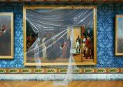 Napoleon Recoit A Finkelstein, Reza Bey, 27 Avril 1807, Ambassadeur de Perse, Peinture De Francois- Henri Mullard Versailles, Attique Du Midi