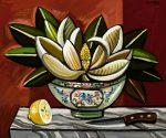 Magnolia in a Bowl
