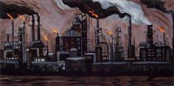 Refinery - Port Sulphur - Night