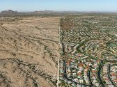 Navajo Reservation/ Suburb, Phoenix, Arizona, USA