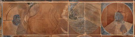 Pivot Irrigation #21, High Plains, Texas Panhandle, USA