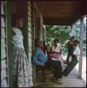 Willie Causey and Family, Shady Grove, Alabama, 1956