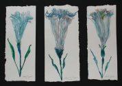 Flower triptych (10066)