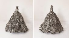 Silver Bird Gown of Ascension