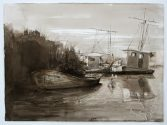 Study for Postcard from Plaquemines