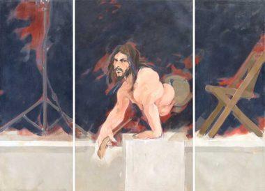 B. J. Robinson (Triptych), 2016 | Oil on canvas | 76 x 103 inches