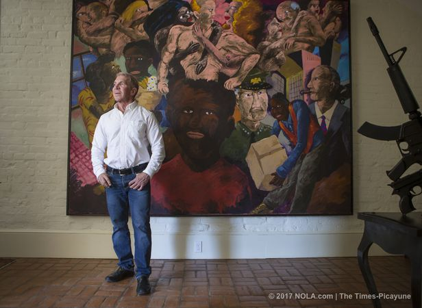 f87d68c65c4c Gallery owner Arthur Roger donates his extensive personal art ...